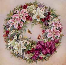 Wreath of Lilies