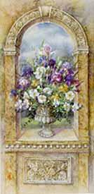 Urn with Irises