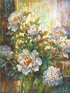 Peony Enchantment, 18x24, $125 print, $345 canvas