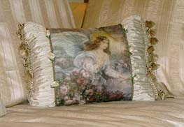 Angel of Love Pillow