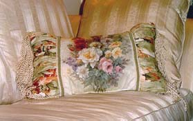 Summer Bouquet Pillow