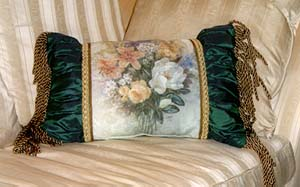 Magnolia Bouquet Pillow