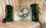 Magnolia Bouquet Designer Accent Pillow