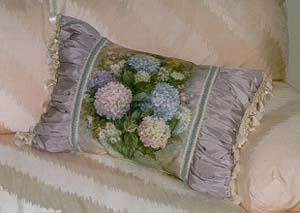 Hydrangea Bouquet Pillow