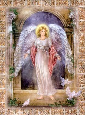 Guardian Angel Art Tile