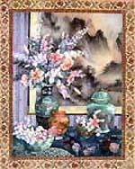 Motif Orientale Art Tile**